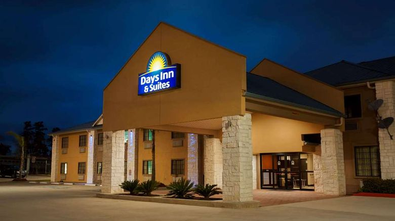 """Days Inn  and  Suites Conroe North Exterior. Images powered by <a href=""""http://web.iceportal.com"""" target=""""_blank"""" rel=""""noopener"""">Ice Portal</a>."""