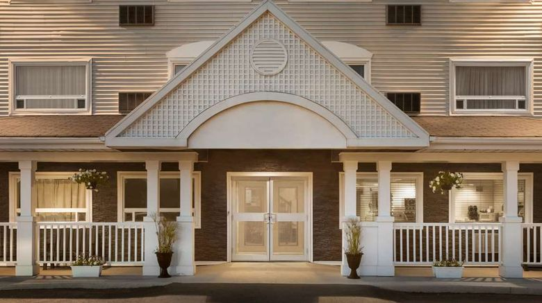 """Travelodge Suites New Glasgow Exterior. Images powered by <a href=""""http://web.iceportal.com"""" target=""""_blank"""" rel=""""noopener"""">Ice Portal</a>."""