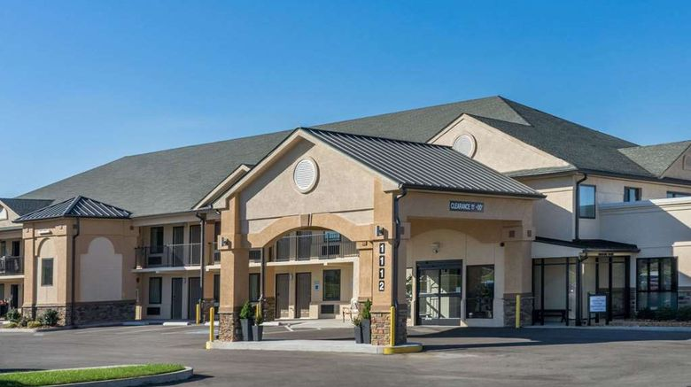 """Baymont Inn  and  Suites Clarksville Exterior. Images powered by <a href=""""http://web.iceportal.com"""" target=""""_blank"""" rel=""""noopener"""">Ice Portal</a>."""