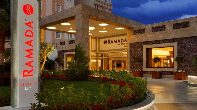 """Ramada Resort Lara Exterior. Images powered by <a href=""""http://web.iceportal.com"""" target=""""_blank"""" rel=""""noopener"""">Ice Portal</a>."""