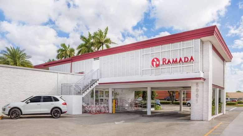 """Ramada Miami Springs/Miami Intl Airport Exterior. Images powered by <a href=""""http://web.iceportal.com"""" target=""""_blank"""" rel=""""noopener"""">Ice Portal</a>."""