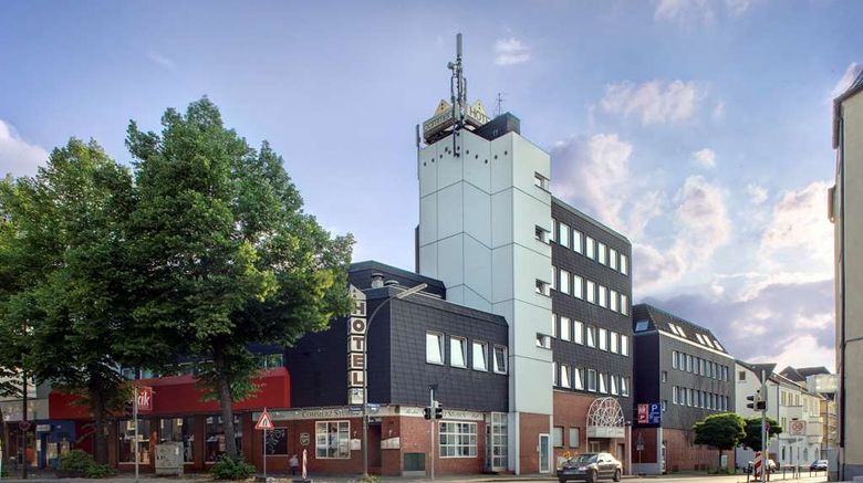 """Days Inn Dortmund West Hotel Exterior. Images powered by <a href=""""http://web.iceportal.com"""" target=""""_blank"""" rel=""""noopener"""">Ice Portal</a>."""