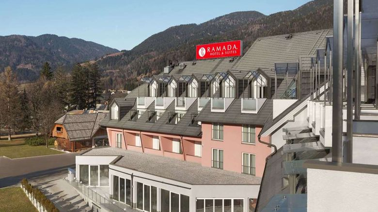 """Ramada Hotel  and  Suites Kranjska Gora Exterior. Images powered by <a href=""""http://web.iceportal.com"""" target=""""_blank"""" rel=""""noopener"""">Ice Portal</a>."""