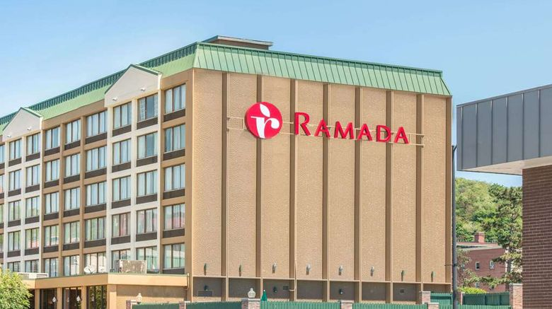 """Ramada Cumberland Downtown Exterior. Images powered by <a href=""""http://web.iceportal.com"""" target=""""_blank"""" rel=""""noopener"""">Ice Portal</a>."""