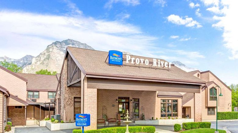 """Baymont Inn  and  Suites Provo River Exterior. Images powered by <a href=""""http://web.iceportal.com"""" target=""""_blank"""" rel=""""noopener"""">Ice Portal</a>."""