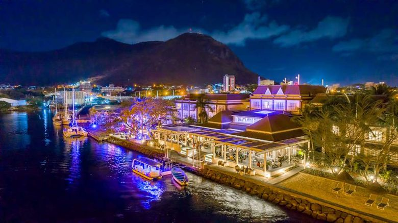 """Le Suffren Hotel  and  Marina Exterior. Images powered by <a href=""""http://web.iceportal.com"""" target=""""_blank"""" rel=""""noopener"""">Ice Portal</a>."""