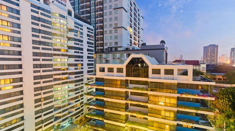 """Royal President Bangkok Exterior. Images powered by <a href=""""http://web.iceportal.com"""" target=""""_blank"""" rel=""""noopener"""">Ice Portal</a>."""