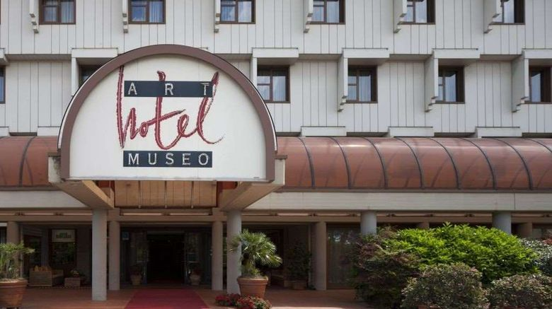 """Art Hotel Museo Exterior. Images powered by <a href=""""http://web.iceportal.com"""" target=""""_blank"""" rel=""""noopener"""">Ice Portal</a>."""