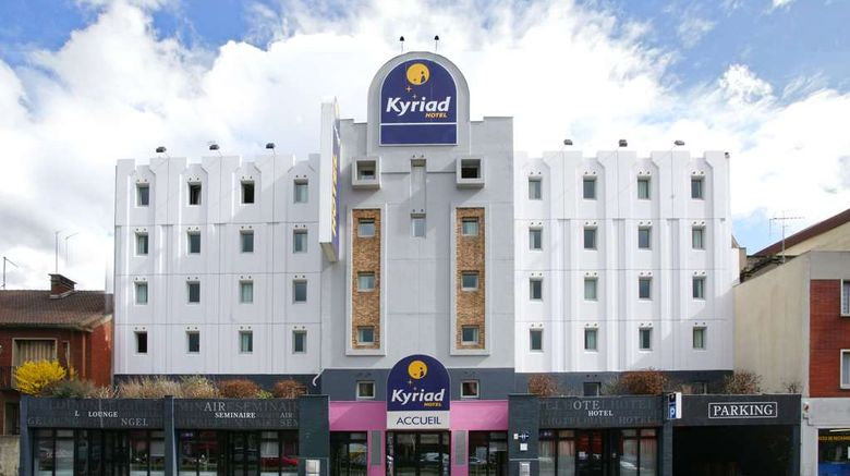 """Kyriad Le Bourget Exterior. Images powered by <a href=""""http://web.iceportal.com"""" target=""""_blank"""" rel=""""noopener"""">Ice Portal</a>."""