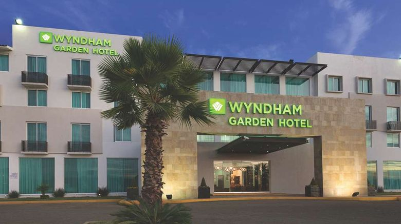 """Wyndham Garden Silao Bajio Airport Exterior. Images powered by <a href=""""http://web.iceportal.com"""" target=""""_blank"""" rel=""""noopener"""">Ice Portal</a>."""