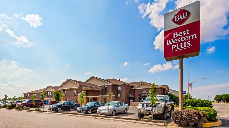 """Best Western Plus Lonoke Hotel Exterior. Images powered by <a href=""""http://web.iceportal.com"""" target=""""_blank"""" rel=""""noopener"""">Ice Portal</a>."""