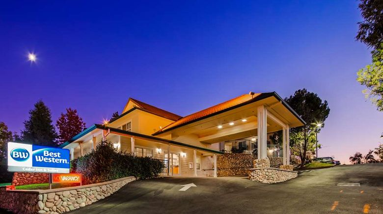 """Best Western Cedar Inn  and  Suites Exterior. Images powered by <a href=""""http://web.iceportal.com"""" target=""""_blank"""" rel=""""noopener"""">Ice Portal</a>."""