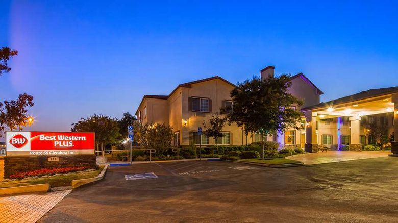"""Best Western Plus Route 66 Glendora Inn Exterior. Images powered by <a href=""""http://web.iceportal.com"""" target=""""_blank"""" rel=""""noopener"""">Ice Portal</a>."""