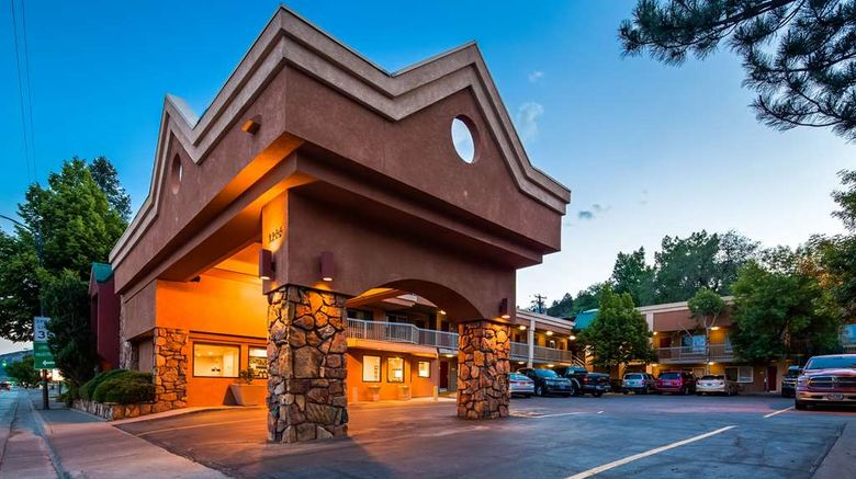 """Best Western Mountain Shadows Exterior. Images powered by <a href=""""http://web.iceportal.com"""" target=""""_blank"""" rel=""""noopener"""">Ice Portal</a>."""