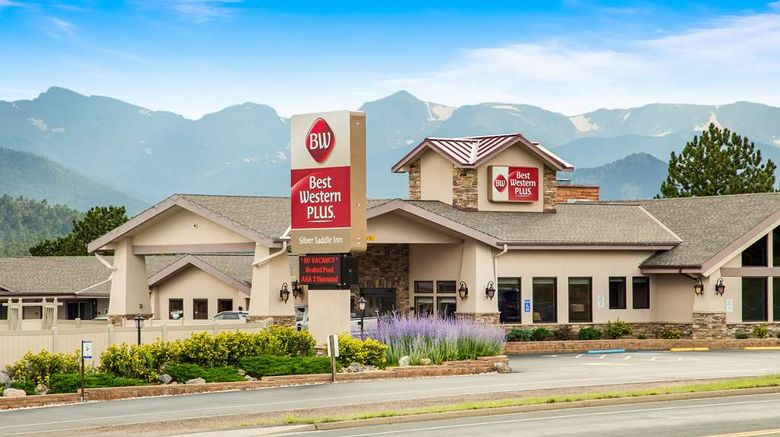 """Best Western Plus Silver Saddle Inn Exterior. Images powered by <a href=""""http://web.iceportal.com"""" target=""""_blank"""" rel=""""noopener"""">Ice Portal</a>."""