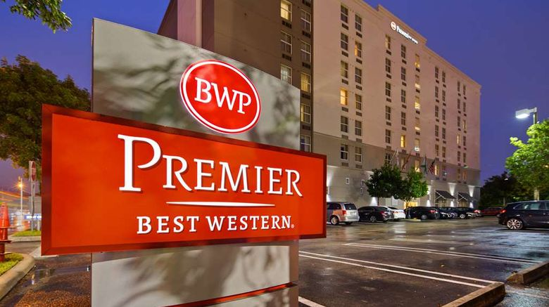 """Best Western Premier Miami Intl Airport Exterior. Images powered by <a href=""""http://web.iceportal.com"""" target=""""_blank"""" rel=""""noopener"""">Ice Portal</a>."""