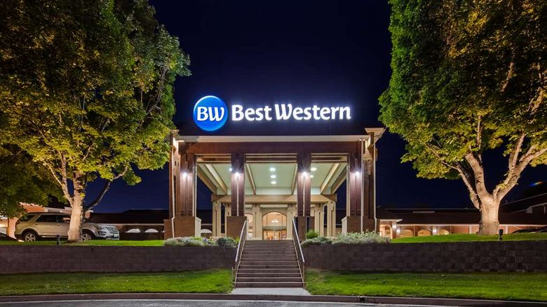 """Best Western Pocatello Inn Exterior. Images powered by <a href=""""http://web.iceportal.com"""" target=""""_blank"""" rel=""""noopener"""">Ice Portal</a>."""
