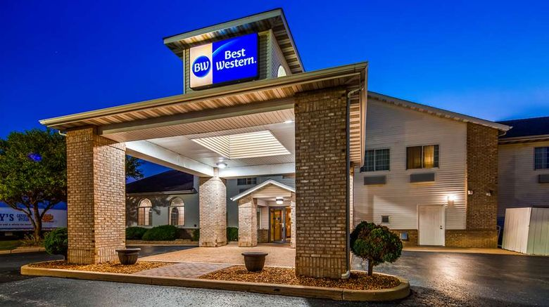 """Best Western Oglesby Inn Exterior. Images powered by <a href=""""http://web.iceportal.com"""" target=""""_blank"""" rel=""""noopener"""">Ice Portal</a>."""