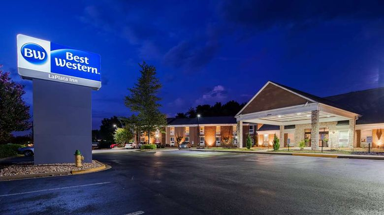 """Best Western La Plata Inn Exterior. Images powered by <a href=""""http://web.iceportal.com"""" target=""""_blank"""" rel=""""noopener"""">Ice Portal</a>."""