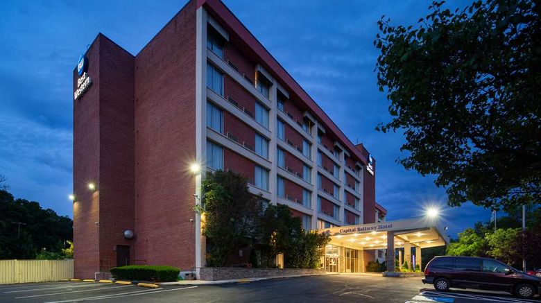"""Best Western Capital Beltway Exterior. Images powered by <a href=""""http://web.iceportal.com"""" target=""""_blank"""" rel=""""noopener"""">Ice Portal</a>."""