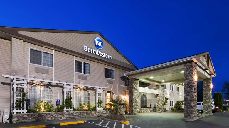 """Best Western University Inn  and  Suites Exterior. Images powered by <a href=""""http://web.iceportal.com"""" target=""""_blank"""" rel=""""noopener"""">Ice Portal</a>."""