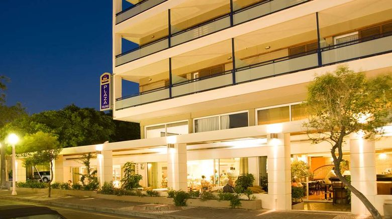 """Best Western Plus Hotel Plaza Exterior. Images powered by <a href=""""http://web.iceportal.com"""" target=""""_blank"""" rel=""""noopener"""">Ice Portal</a>."""