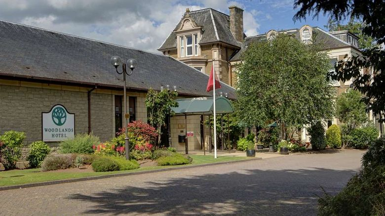 """Best Western Dundee Woodlands Hotel Exterior. Images powered by <a href=""""http://web.iceportal.com"""" target=""""_blank"""" rel=""""noopener"""">Ice Portal</a>."""