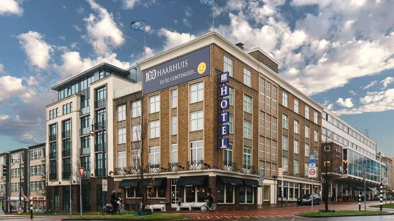 """Hotel Haarhuis Exterior. Images powered by <a href=""""http://web.iceportal.com"""" target=""""_blank"""" rel=""""noopener"""">Ice Portal</a>."""