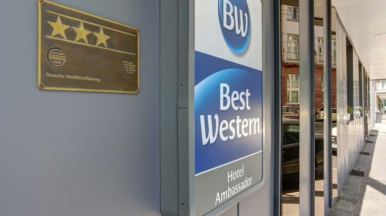 """Best Western Ambassador Hotel Exterior. Images powered by <a href=""""http://web.iceportal.com"""" target=""""_blank"""" rel=""""noopener"""">Ice Portal</a>."""