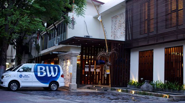 """Best Western Kuta Villa Exterior. Images powered by <a href=""""http://web.iceportal.com"""" target=""""_blank"""" rel=""""noopener"""">Ice Portal</a>."""
