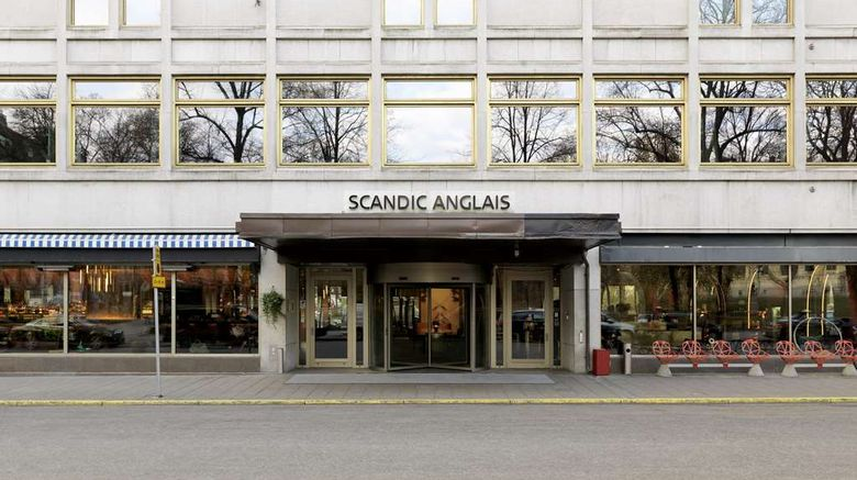 """Scandic Hotel Anglais Exterior. Images powered by <a href=""""http://web.iceportal.com"""" target=""""_blank"""" rel=""""noopener"""">Ice Portal</a>."""
