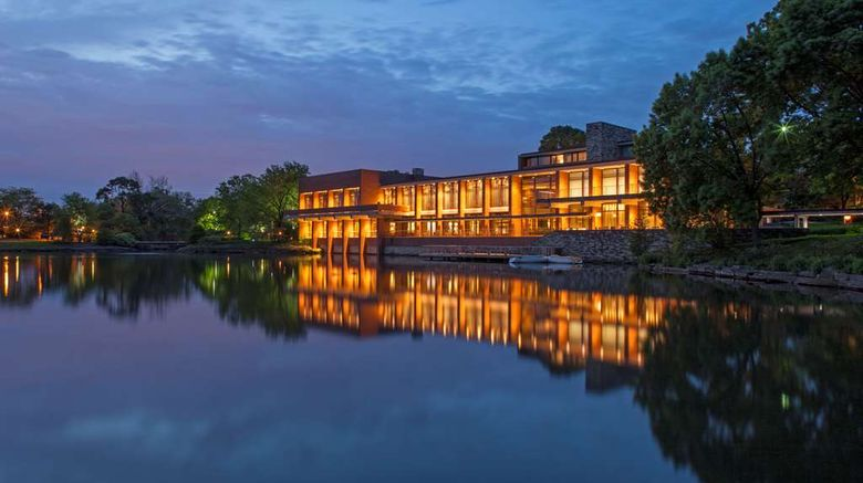 """The Hyatt Lodge At Oak Brook Exterior. Images powered by <a href=""""http://web.iceportal.com"""" target=""""_blank"""" rel=""""noopener"""">Ice Portal</a>."""