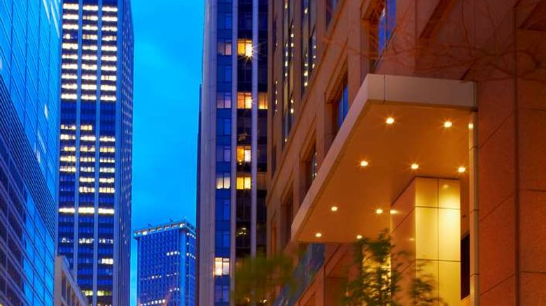 """ANdAZ Wall Street Exterior. Images powered by <a href=""""http://web.iceportal.com"""" target=""""_blank"""" rel=""""noopener"""">Ice Portal</a>."""