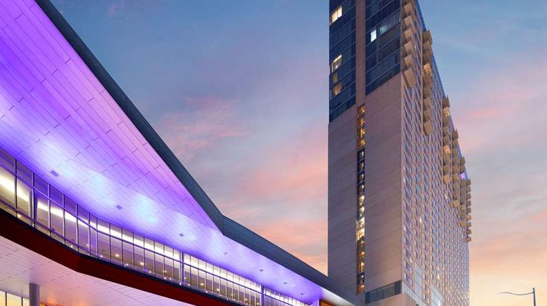 """Grand Hyatt San Antonio Exterior. Images powered by <a href=""""http://web.iceportal.com"""" target=""""_blank"""" rel=""""noopener"""">Ice Portal</a>."""