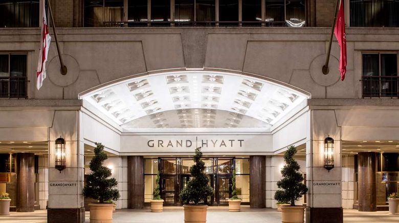 """Grand Hyatt Washington Exterior. Images powered by <a href=""""http://web.iceportal.com"""" target=""""_blank"""" rel=""""noopener"""">Ice Portal</a>."""