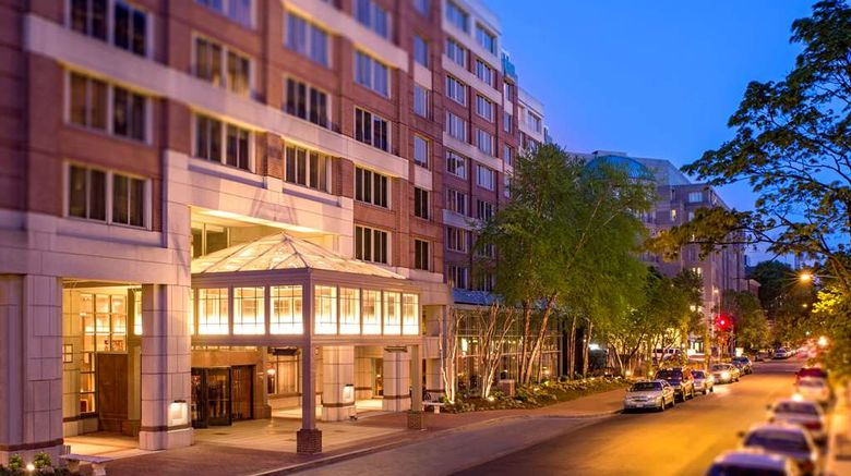 """Park Hyatt Washington DC Exterior. Images powered by <a href=""""http://web.iceportal.com"""" target=""""_blank"""" rel=""""noopener"""">Ice Portal</a>."""