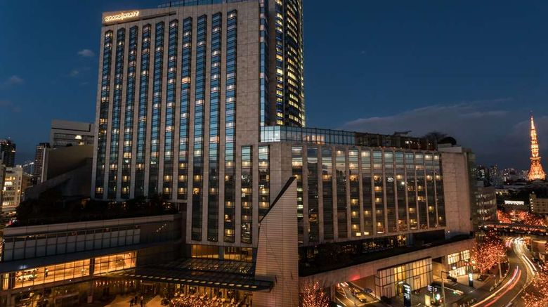 """Grand Hyatt Tokyo Exterior. Images powered by <a href=""""http://web.iceportal.com"""" target=""""_blank"""" rel=""""noopener"""">Ice Portal</a>."""