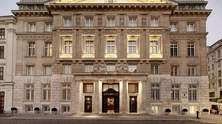 """Park Hyatt Vienna Exterior. Images powered by <a href=""""http://web.iceportal.com"""" target=""""_blank"""" rel=""""noopener"""">Ice Portal</a>."""