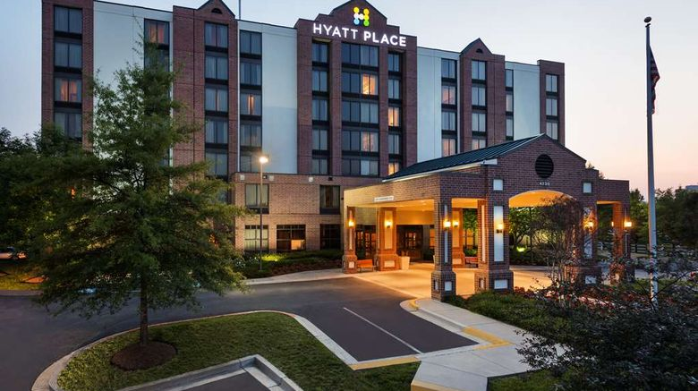 """Hyatt Place Baltimore Owings Mills Exterior. Images powered by <a href=""""http://web.iceportal.com"""" target=""""_blank"""" rel=""""noopener"""">Ice Portal</a>."""