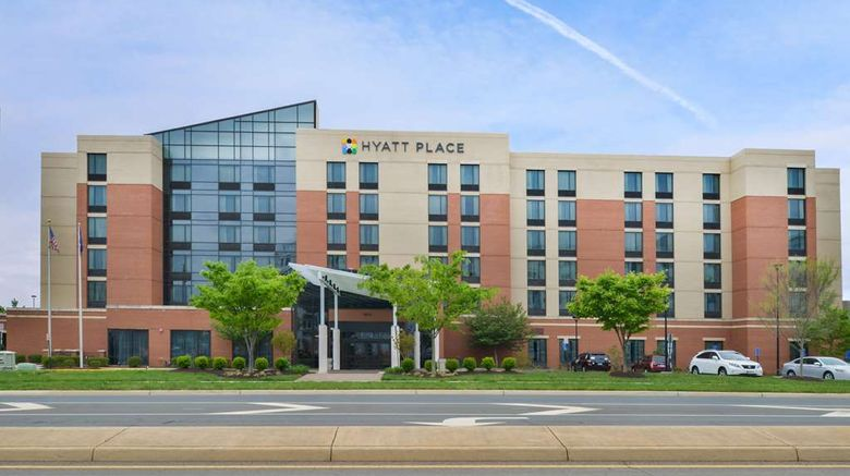 """Hyatt Place Herndon/Dulles Airport-East Exterior. Images powered by <a href=""""http://web.iceportal.com"""" target=""""_blank"""" rel=""""noopener"""">Ice Portal</a>."""