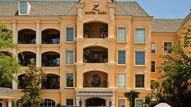 """Hotel ZaZa Dallas Exterior. Images powered by <a href=""""http://web.iceportal.com"""" target=""""_blank"""" rel=""""noopener"""">Ice Portal</a>."""
