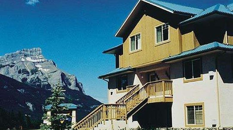 """Banff Boundary Lodge Exterior. Images powered by <a href=""""http://web.iceportal.com"""" target=""""_blank"""" rel=""""noopener"""">Ice Portal</a>."""