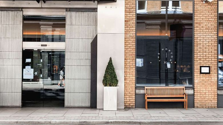 """The Hoxton, Shoreditch Exterior. Images powered by <a href=""""http://web.iceportal.com"""" target=""""_blank"""" rel=""""noopener"""">Ice Portal</a>."""