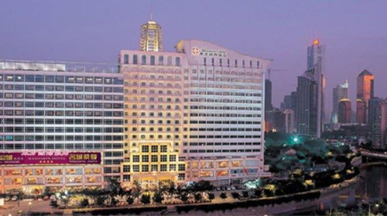 """Mandarin Hotel Guangzhou Exterior. Images powered by <a href=""""http://web.iceportal.com"""" target=""""_blank"""" rel=""""noopener"""">Ice Portal</a>."""