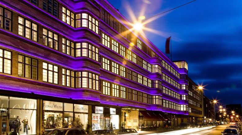 """Ellington Hotel Berlin Exterior. Images powered by <a href=""""http://web.iceportal.com"""" target=""""_blank"""" rel=""""noopener"""">Ice Portal</a>."""