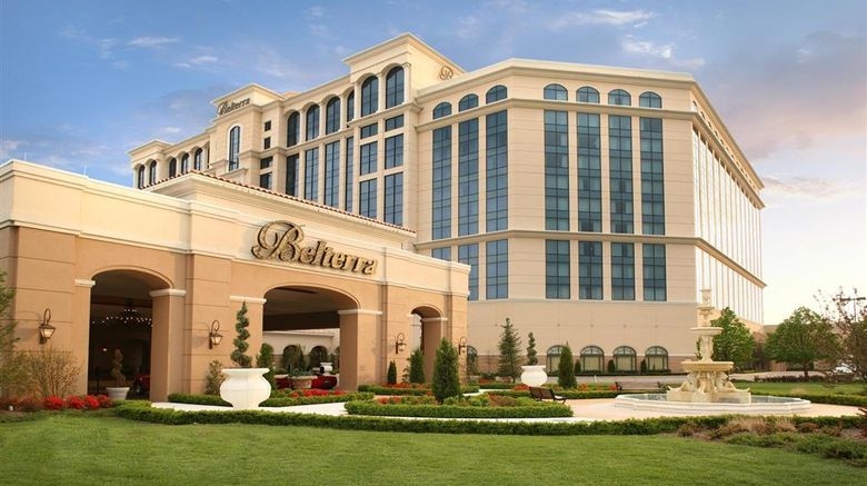 """Belterra Casino Resort Exterior. Images powered by <a href=""""http://web.iceportal.com"""" target=""""_blank"""" rel=""""noopener"""">Ice Portal</a>."""