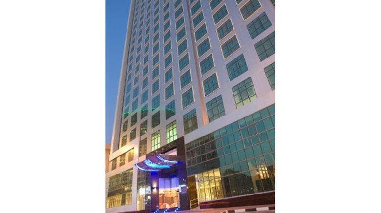 "Park Regis Kris Kin Hotel Dubai Exterior. Images powered by <a href=""http://web.iceportal.com"" target=""_blank"" rel=""noopener"">Ice Portal</a>."