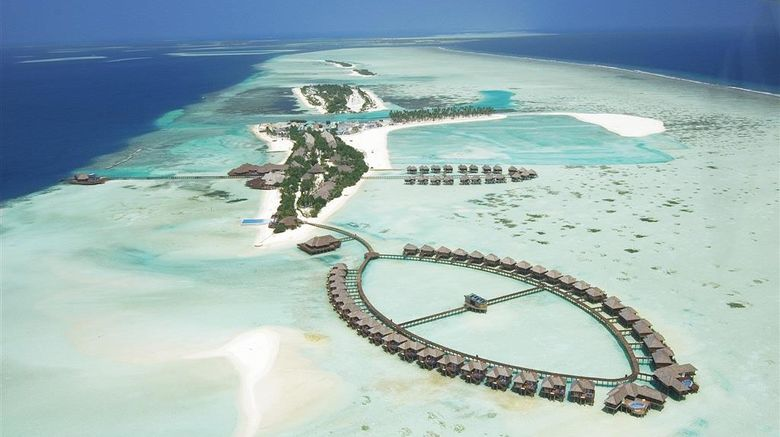 """Olhuveli Beach  and  Spa Resort Exterior. Images powered by <a href=""""http://web.iceportal.com"""" target=""""_blank"""" rel=""""noopener"""">Ice Portal</a>."""