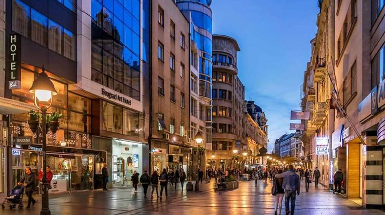"""Belgrade Art Hotel, Radisson Individuals Exterior. Images powered by <a href=""""http://web.iceportal.com"""" target=""""_blank"""" rel=""""noopener"""">Ice Portal</a>."""