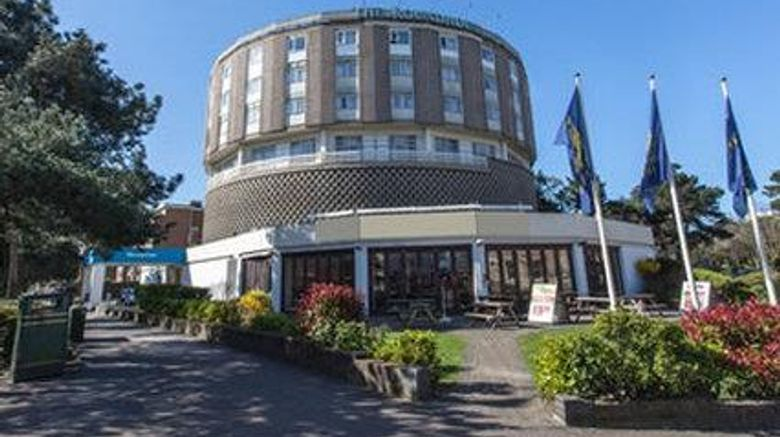 """Roundhouse Hotel Bournemouth Exterior. Images powered by <a href=""""http://web.iceportal.com"""" target=""""_blank"""" rel=""""noopener"""">Ice Portal</a>."""